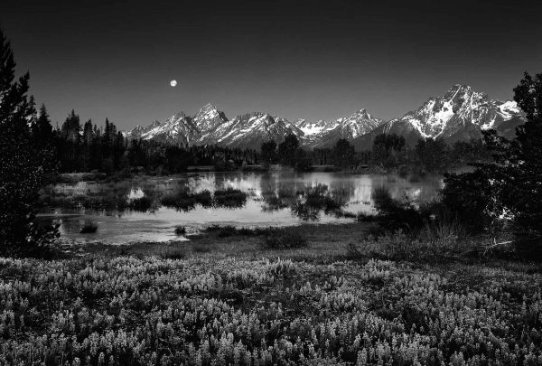 moon over tetons clyde
