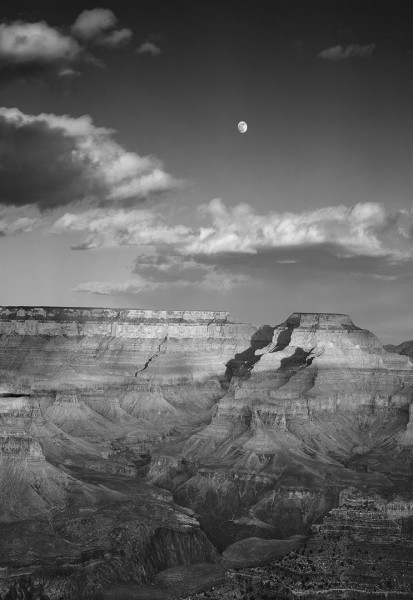 grand canyon moon rise 2