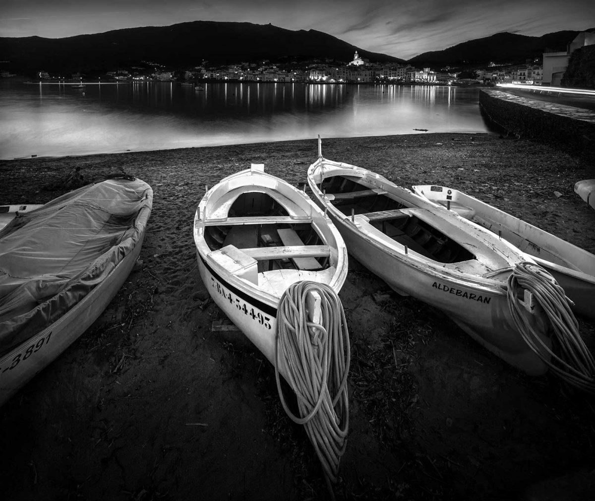Boats on Cadaques Shore