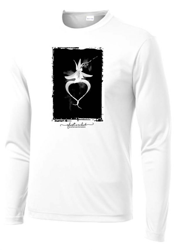 Ghost Orchid White Long Sleeve